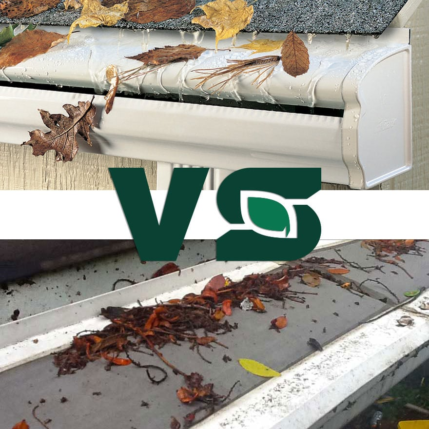 Gutter Screens, mesh cover, or Seamless LeafGuard® Gutter System