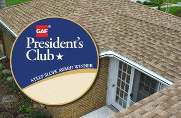 National GAF President's Club Award Winner