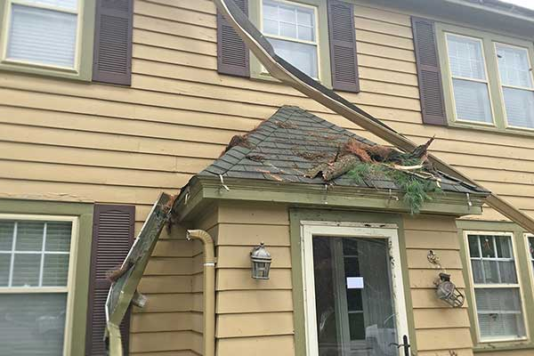 A storm can cause havoc on your roof and property, luckily Home Solutions of Iowa can help restore your home.