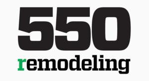 Remodeling Magazine's 550 Award