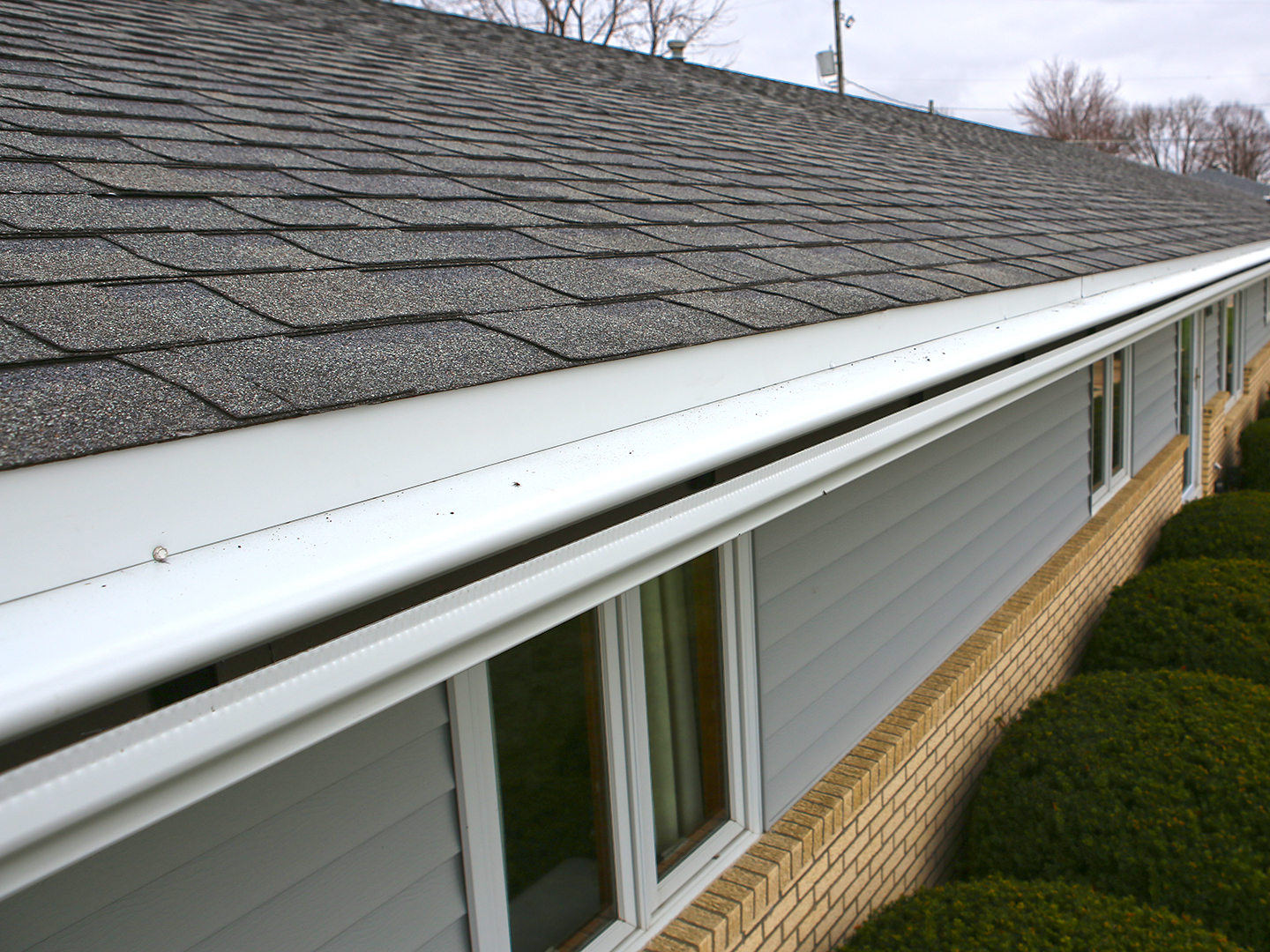 Leafguard 174 Seamless Gutters Vs Gutter Mesh And Covers