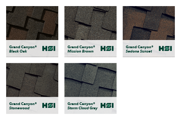 Grand Canyon® Lifetime Designer Shingle