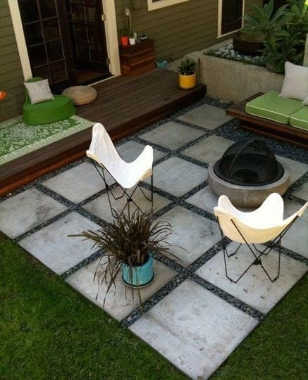 home exterior patio design