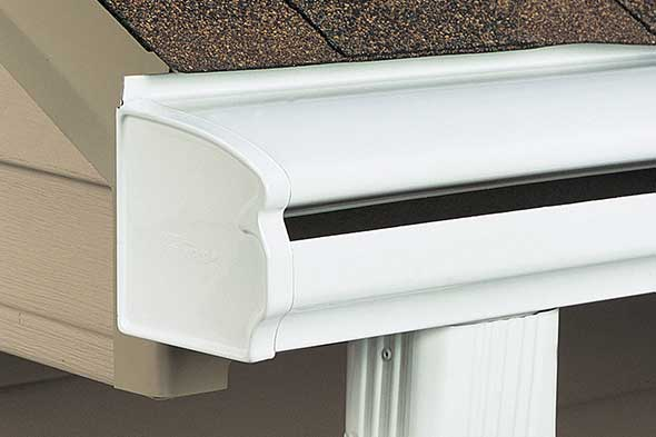 Seamless Leafguard 174 Gutters Installed By Home Solutions Of