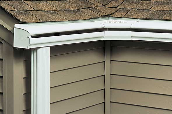 LeafGuard® Gutters patented design keeps rainwater running freely and safely away from your home – each and every time it rains.