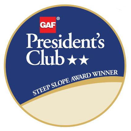 GAF roofing presidents club