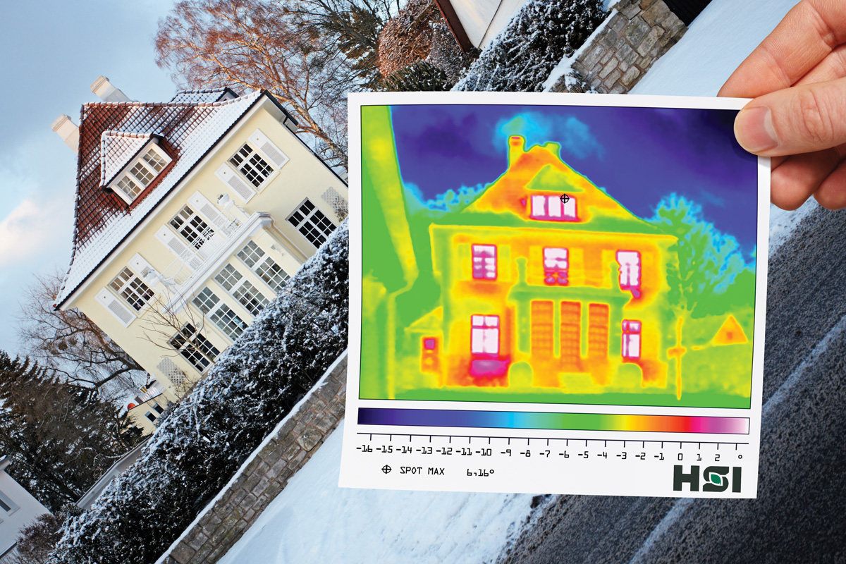 Our Heat Map technology, will show you the areas of energy loss in your home.