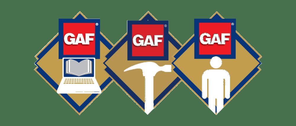 GAF triple excellence roofing awards