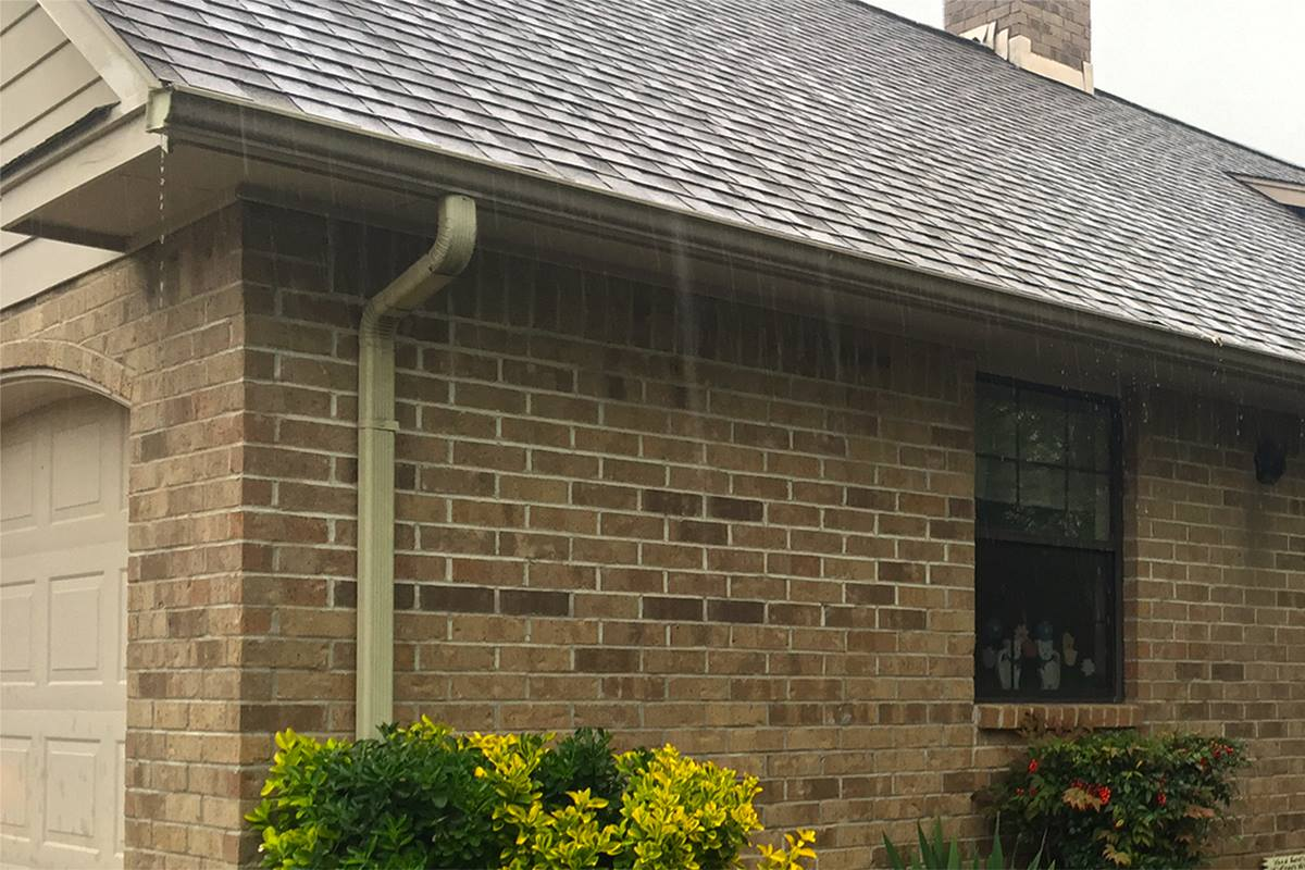Spring rains in Iowa, can lead to major foundation issues if your gutters are left unchecked.