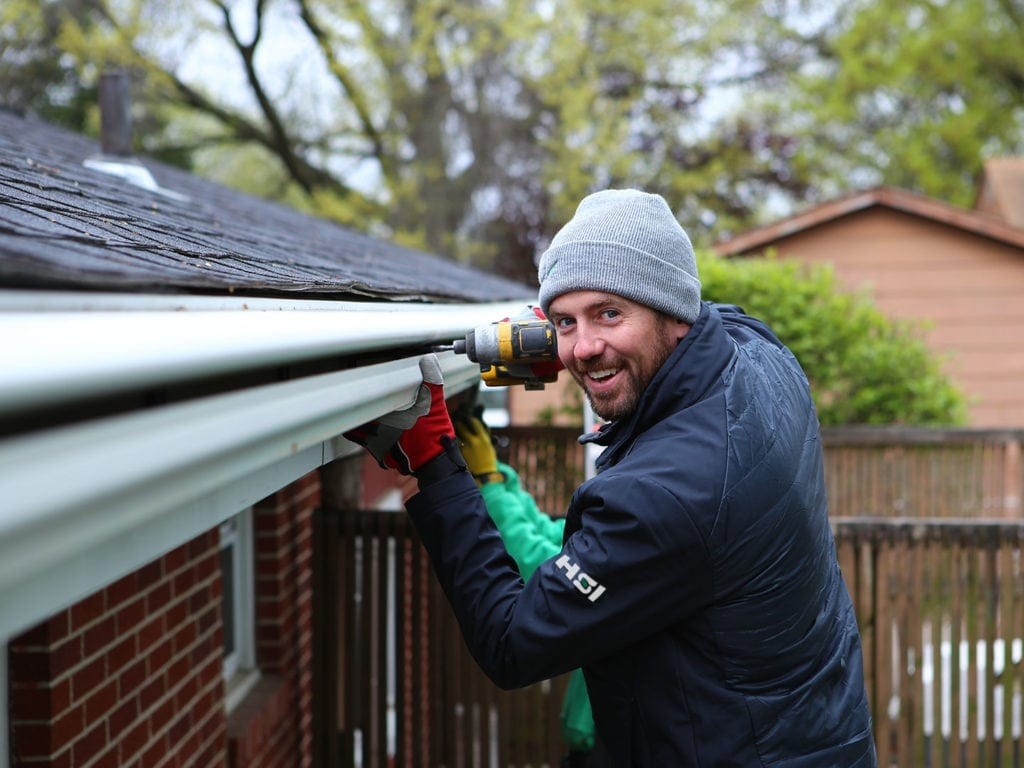 Joe and our staff are readt to transform your Iowa home with our LeafGuard® Gutters and home improvement products.