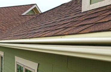 LeafGuard® Gutters on Des Moines, Iowa House