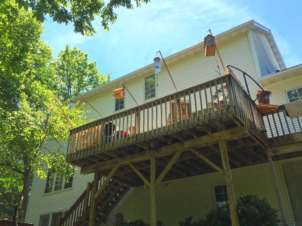 Over 180 ft of our clog-free LeafGuard® Gutters now protect Stanley's home in Oskaloosa, IA.