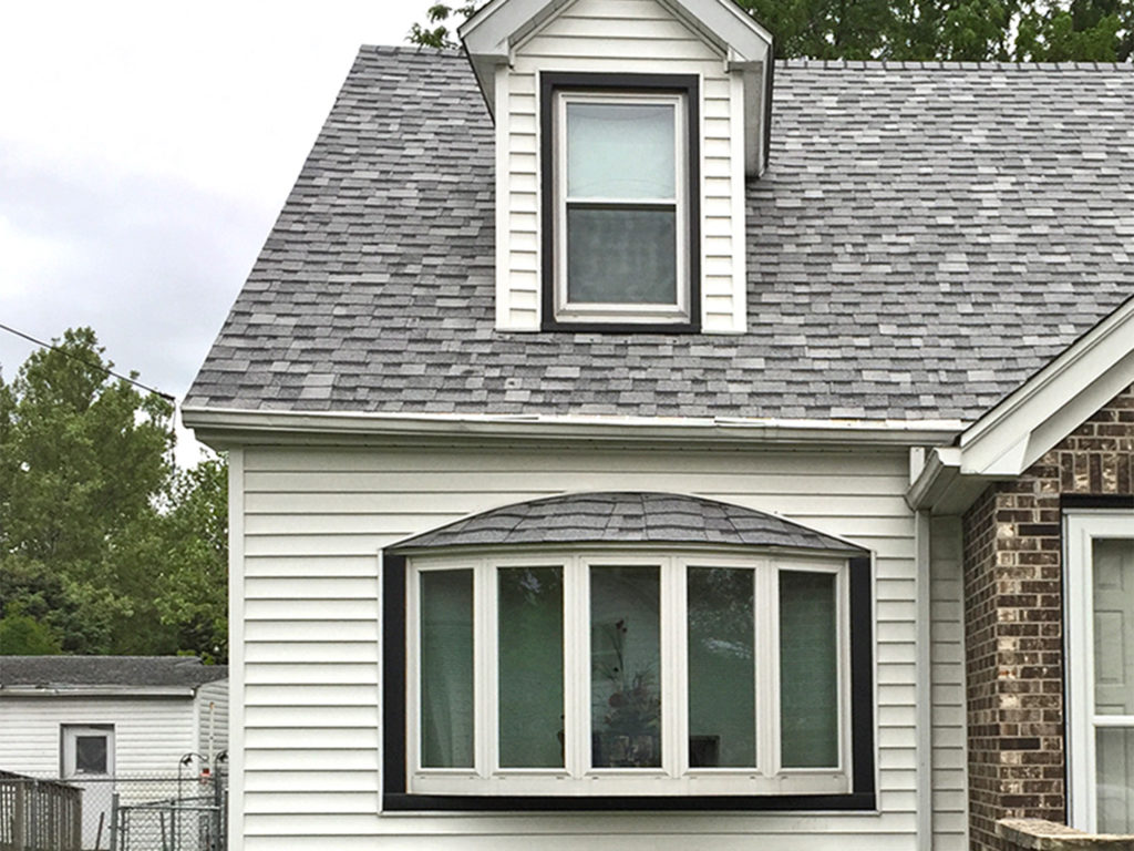 Gutter Screen were installed on this home in Des Moines, Iowa.