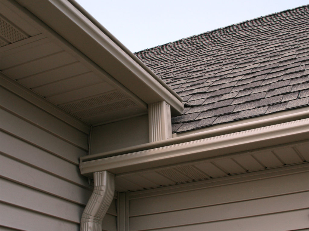 LeafGuard® Brand Gutters carry water away from the home with a patented, debris shedding design that is better than any other gutter on the market today.