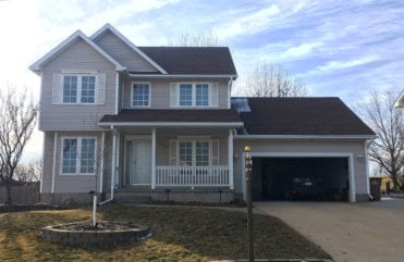 This Norwalk, IA home is now safeguarded with LeafGuard® Brand Gutters.