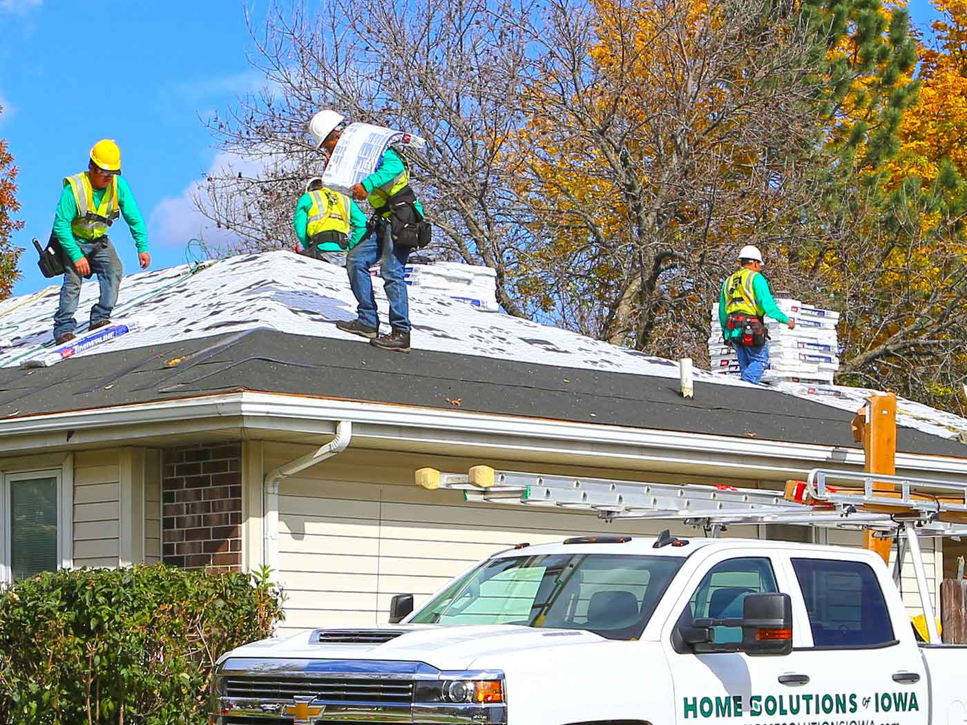 Roofing by Home Solutions of Iowa