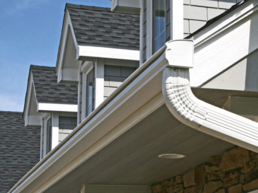 LeafGuard® Gutter on a home in Waukee, IA