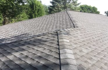GAF® Timberline HD® pewter gray asphalt shingles