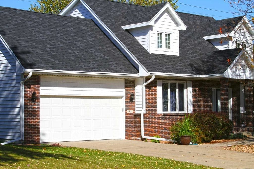Fix wet basement by using LeafGuard® gutters.