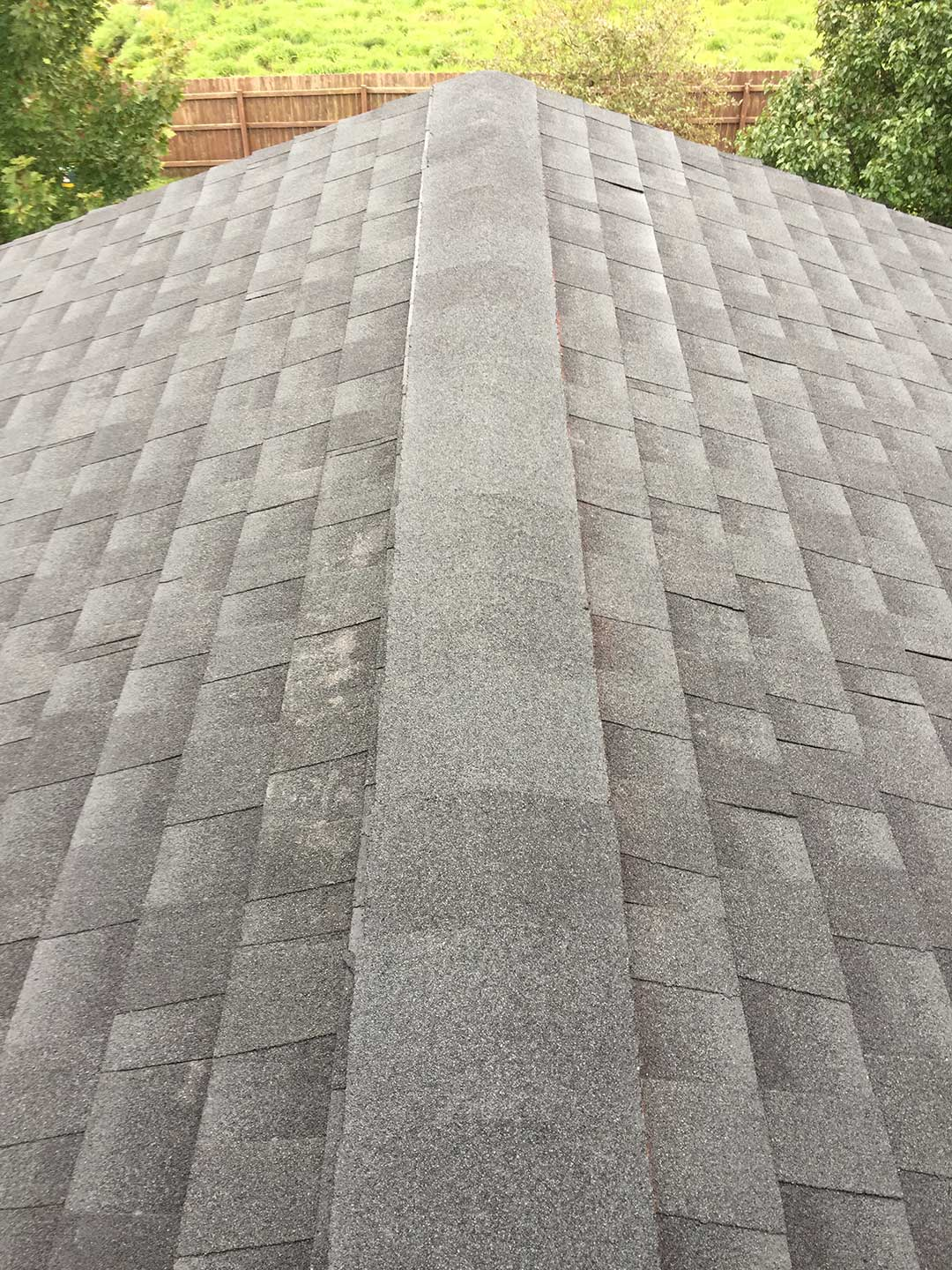 Brian's Urbandale, IA home's roof had been damaged by hail in one of the storms from this summer.