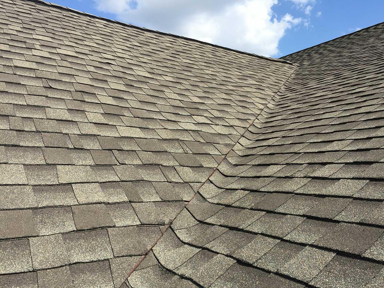 GAF's Timberline® Ultra HD® Weathered Wood asphalt shingles