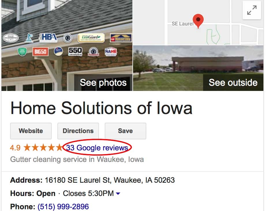 home solutions google reviews