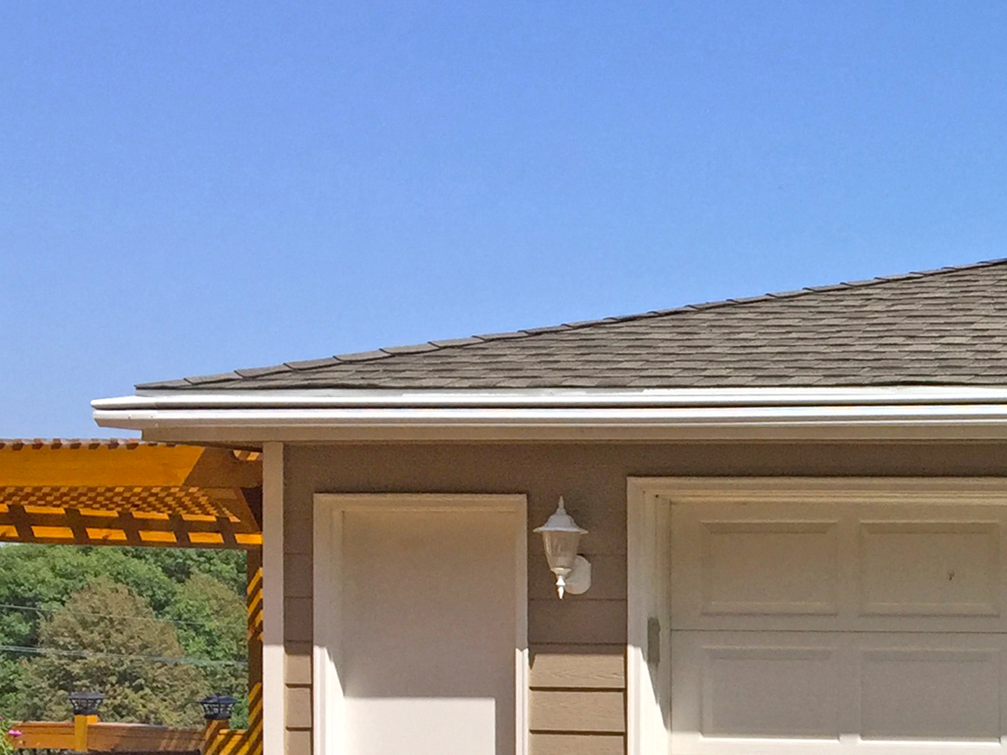 After LeafGuard® gutters were replaced.