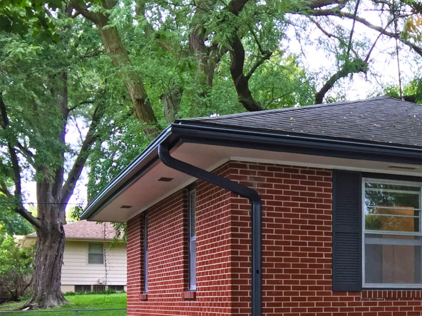 LeafGuard® is the only gutter cover system that can claim to have a patented, one-piece, seamless gutter system. Its built-in hood allows water to flow freely while eliminating clogs by deflecting debris such as leaves, pine needles and small branches from nearby trees.