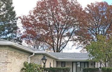 LeafGuard® seamless gutters prevent clogs from ever forming.