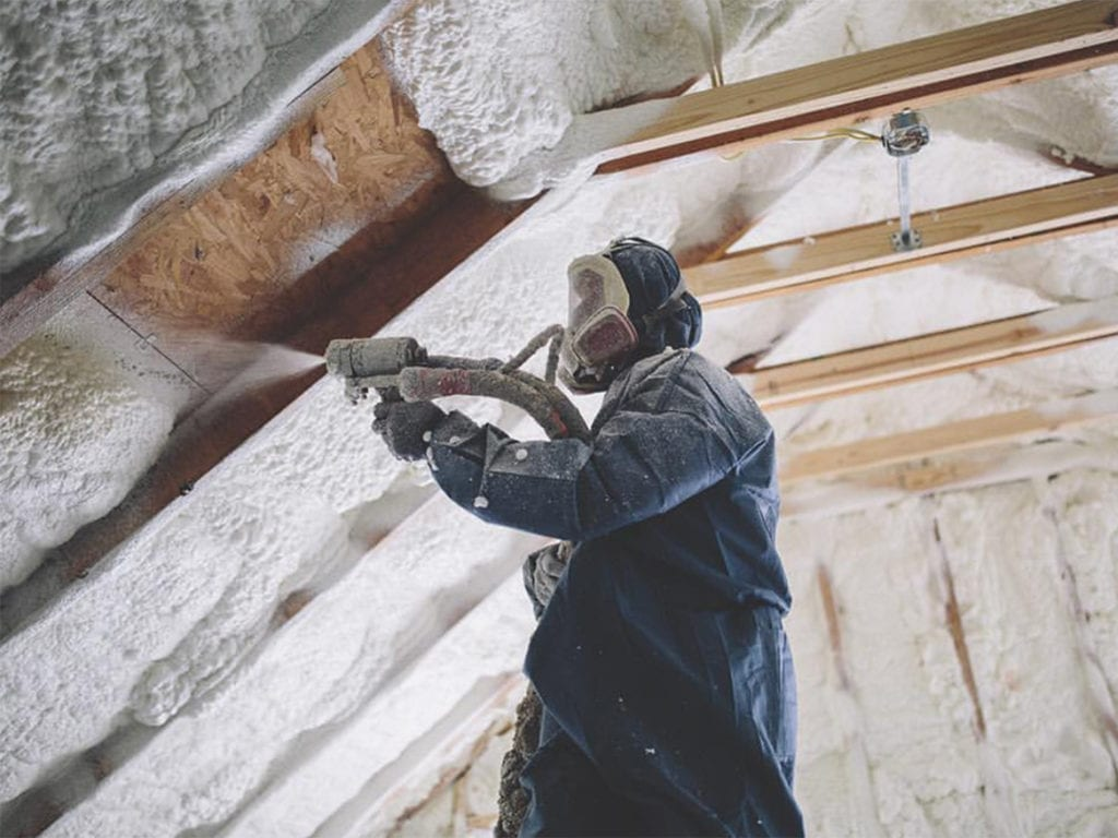 Home Solutions of Iowa can improve your home's efficiency with spray foam insulation.