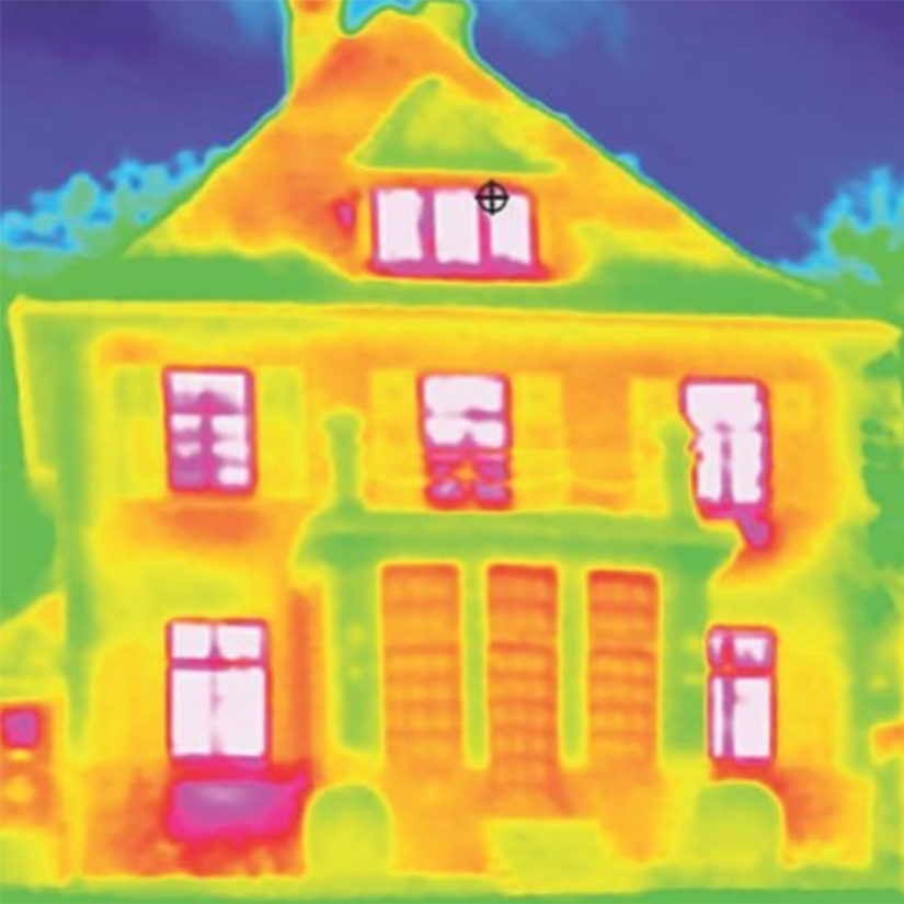 heat map home insulation