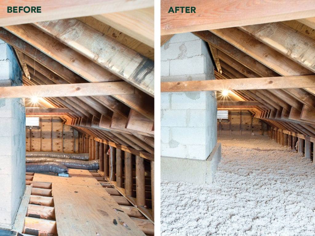 Cellulose Insulation Attic iowa