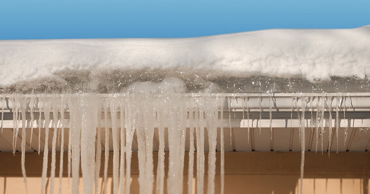 Fix Amp Remove Ice Dams Or Icicles Home Solutions Of Iowa