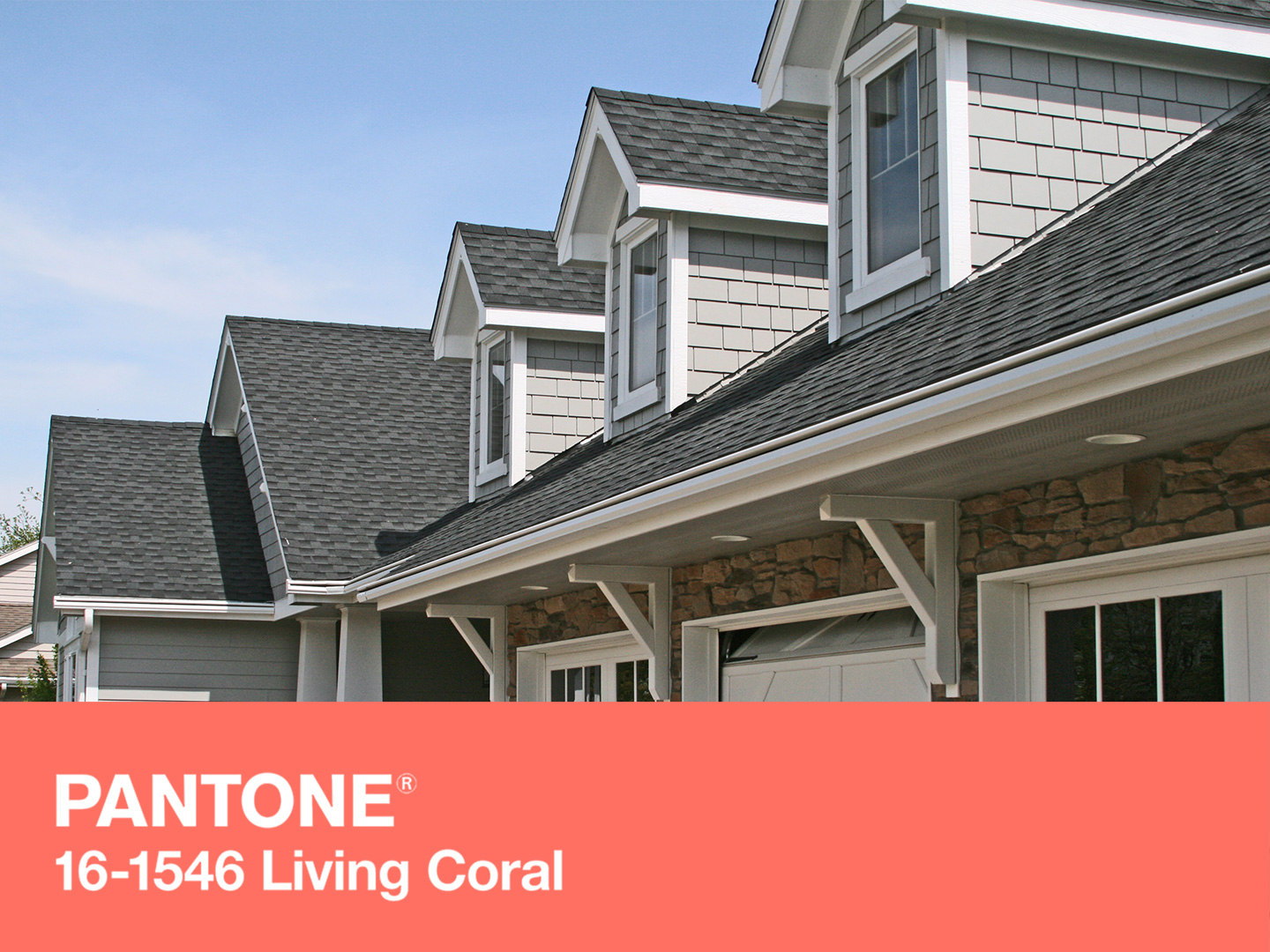 Pantone with GAF shingles and LeafGuard® gutters.