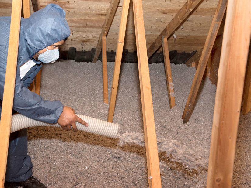 Blown-in Cellulose Insulation