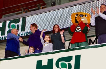Garman family wins Iowa Wild Roof Giveaway
