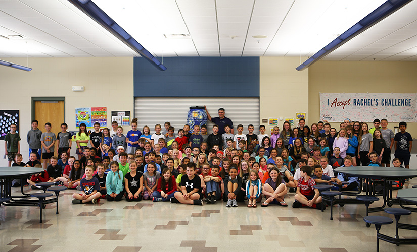 4th Grade Class from Walnut Hills Elementary School