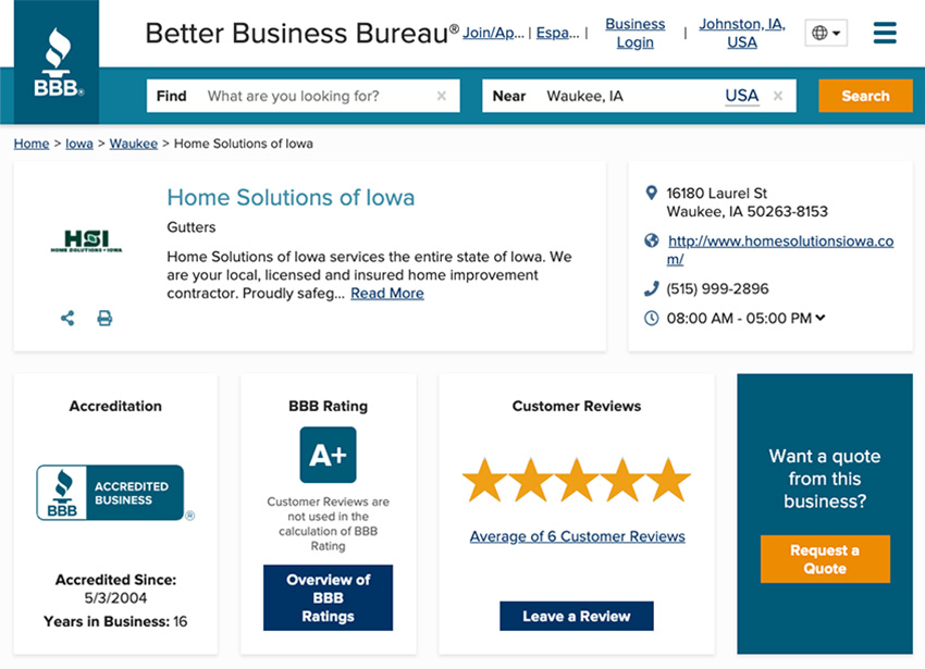 There are many sources you can use to research home improvement contractors. The first place to start is the Better Business Bureau for accreditation and reviews.