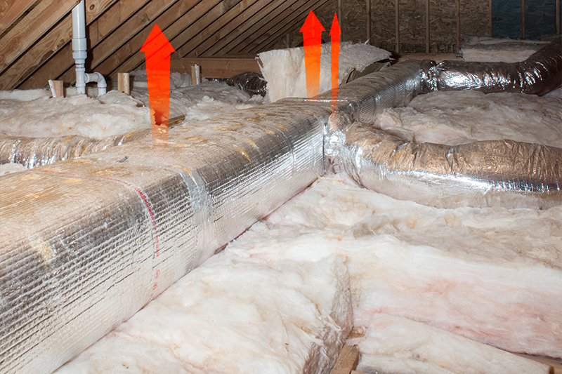 Leaking HVAC ducts can contribute to major heat loss in your home